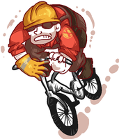 AS THE ENGINEER GUY: HOW DO I RIDE MY BICYCLE ? by Mat-el-Tea