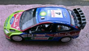 Ford Focus WRC top view by Mister-Lou