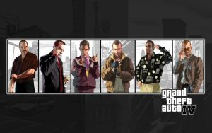 GTA IV multichar wallpaper by surag