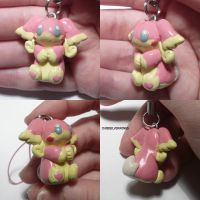 Audino Charm by ChibiSilverWings