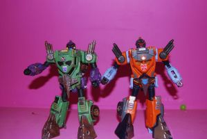 war for cybertron hook 2 by Shenron-Customs