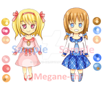Adoptable 4 Pink or Blue (OPEN) by Megane-chi
