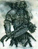 Khorne Lord of Skulls by BlackMamb