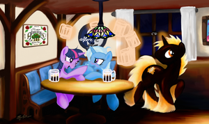 Drinks with Friends by SynCallio