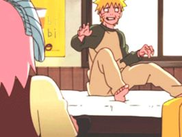 Narusaku funny Moment 1 GIF FILE by Angie988