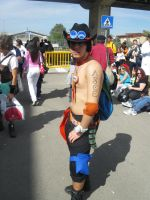 Ace One Piece Romics 2008 by axel91