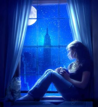 This Night Im alone by Marjie79