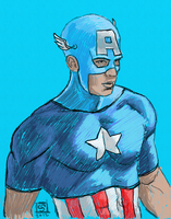 Captain America #DSC by The-Tinidril