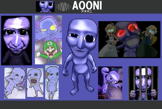 Super Smash Bros The Fears Ao Oni Wallpaper by PhotographerFerd