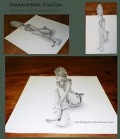 Anamorphic Illusion by Anadia-Chan