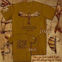 Hiccup's Sketchbook :: T-Shirt Mockup by inhonoredglory