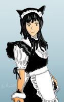Charming Maid Cafe Girl by squidge16