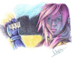 FINAL FANTASY 13 : LIGHTNING by ShizuneRu