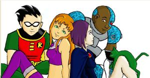Teen Titans 2 by AnimatedBritney