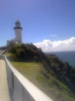 Cape byron lighthouse by wolfspiritsd