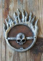 Mad Max Fury Road Furiosa's Skull Buckle by b3designsllc