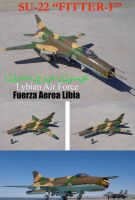 Sukhoi SU 22 Fitter F Lybian Air Force by DingoPatagonico