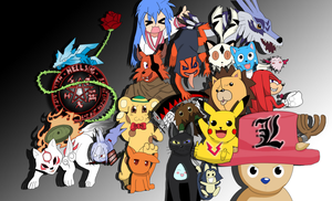 My favorite animes by HellButterfly22
