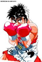 IPPO MAKUNOUCHI (MARKER-COLOR) by MUERTITO69