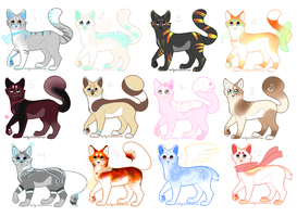 Full Cat Adopt [Open] by MiinePeyAdopts