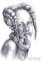 Himba Girl by FlyQueen