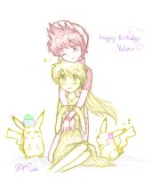 Happy B-day Yellow by firehorse6