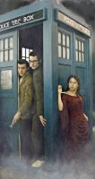 Two Doctors and the Impossible Girl by Rosemel92