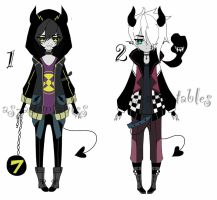 demon adoptable batch CL0SED by AS-Adoptables