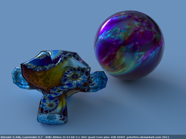 Lux Material Test by peterbru