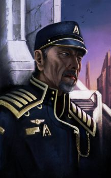Admiral Hackett by yuhime