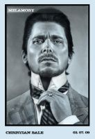Christian Bale by FairyARTos