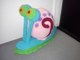 GARY THE SNAIL!!! by CreationsbyJolie