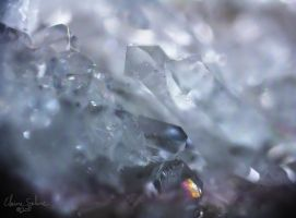 Geology Macro Crystals - 3 by ElaineSelene