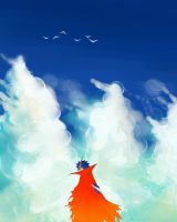 Kamina_TTGL by VioletDragonSlayer