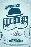 Movember Poster by DusskDeejay