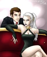 Formal Jayce and Diana by Shadow-Hunter446