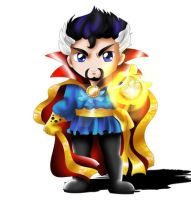 Dr. Strange Chibi by ExoroDesigns