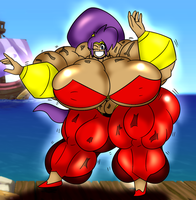 Shantae - Buff Genie Hero by MrPr1993