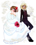 Marik and Anzu Wedding by Maronz1223