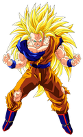 Goku Super Saiyan 3 by OriginalSuperSaiyan