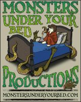 Monsters Under Your Bed Graphic by Maurautius