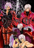 All Devils May Cry and love me by Nizhan