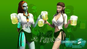 St. Patricks Day 2012 by DarklordIIID