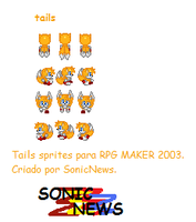 Tails Sprites -charset- by sonicnews