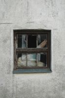 Old Damaged window by BlokkStox