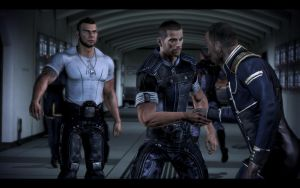 Mass Effect 3 - Male Casual Outfit 1 by Revan654