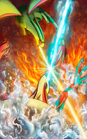 Fire vs Ice- Remake by KT-245