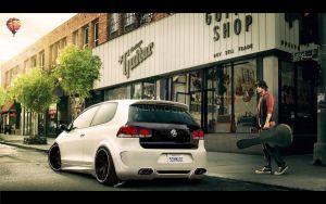 Golf VI GTI by JensTrio