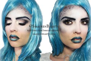 Mermaid Makeup Tutorial by smashinbeauty