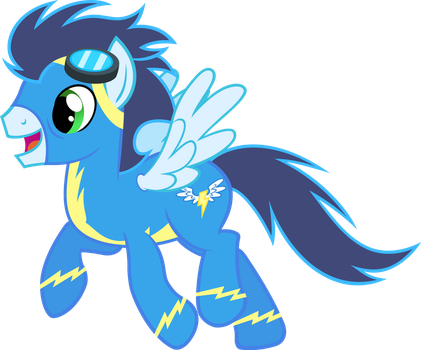 Soarin by MoongazePonies